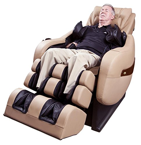 Luraco Legend PLUS L-Track Home Massage Chair (Cream)