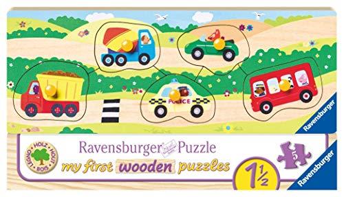 Ravensburger - My First Puzzle, Mis Primeros Vehículos (03236)