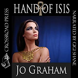 Hand of Isis audiobook cover art