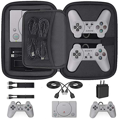 Customized Carrying Case for Playstation Classic Mini Edition Console and Accessories