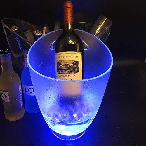 Cubitera Cubo de Champán Cubo de hielo Cerveza LED Cubo De