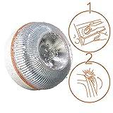 MSVV LUZ DE Ayuda luz Emergencia Coche/luz de Emergencia v16, automático + Martillo de Emergencia: rompeventanas + Cortador de cinturón y Regalo