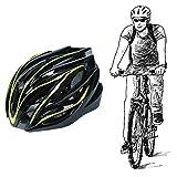 Huai1988 Casco Bicicleta Adulto, Casco Bicicleta Mujer Casco Ciclista Casco para Bicicleta Hombre Casco de Bicicleta Ajustable para Adultos Casco de Bicicleta Urbano con Visera Desmontable (Amarillo)