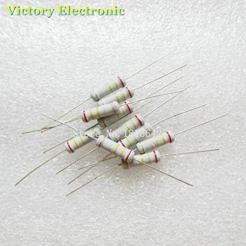 1M Ohm Set 200pcs 20 Values 1W 5/% Resistors Resistance Kit Assortimento 10 Ohm