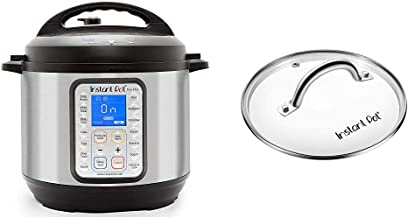 Instant Pot Duo Plus 9-in-1 Electric Pressure Cooker, Sterilizer, Slow Cooker, Rice Cooker, Steamer, Saute, 8 Quart, 15 On...