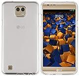 mumbi Custodia compatibile con LG X Cam, chiaro bianco