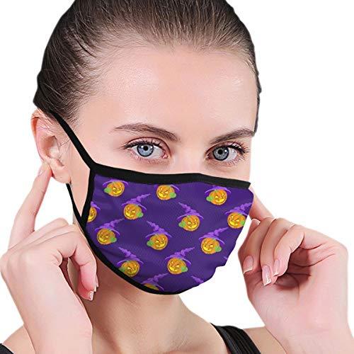 Doinh Black Edge Mask, Halloween Pompoen, stofmasker, Geschikt voor mannelijke en vrouwelijke maskers