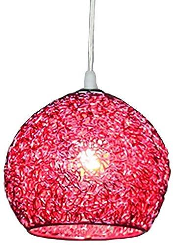 Plafond Hanger Grote Lampenkappen Draadtinten Nordic Licht Kleurrijke Ball Room Koffie Shop Eigen Kantoren Creatief Ontwerp Aluminium Schaduw