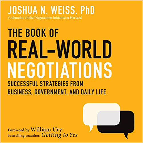 The Book of Real-World Negotiations cover art