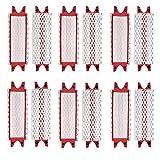 YAJIWU Almohadillas de repuesto de microfibra para fregona de piso Vileda UltraMax EasyWring de microfibra, paquete de 12