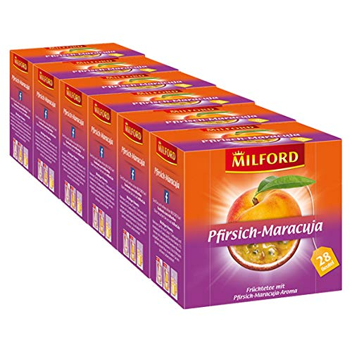 Milford Pfirsich-Maracuja 6er Pack
