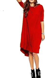 Haola Women's Loose T Shirt Dress Home Short Dresses Tops