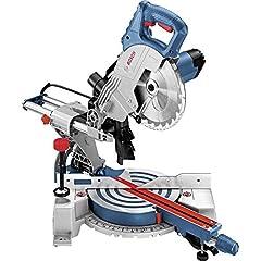 Bosch Professional panel zag GCM 800 SJ (1.400 watt, zaagblad diameter: 216 mm, incl. 1x cirkelzaagblad, zeshoekige zeshoekige, in karton)*
