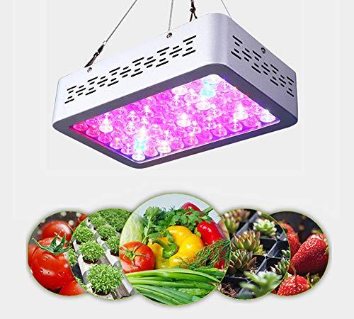 XZYP Wachsen Licht, 2019 Verbesserte Version 600W Full Spectrum-Panel-Anlage Licht Mit IR & UV-LEDs Für Pflanzgut, Micro Grünen, Clones, Sukkulente, Veg