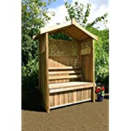 Dorset Wooden Arbour Storage Box