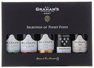 Graham's Mini Port Wine Selection Presentation Pack, 50 ml (Case of 5)