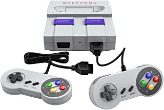 MEEPHONG Retro Game Console, HDMI HD Built-in 821 Classic Video Games,Built-in 821 Game in TF Card, with 2 Joysticks.