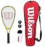 Wilson Ripper Junior Squash Racket Set with Bag, Waterbottle & Balls