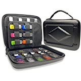 Flash Drive Case JBOS SD Card Holder SSD Hard Drive Case Hard Shell Case Storage Bag Waterproof Shockproof Organizer for Electronics Accessories of Wide Range of Sizes