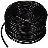 Hydro Flow 100 ft Vinyl Tubing, Black - 3/16' ID x 1/4' OD