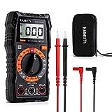 Multimetro Digitale KAIWEETS Tester Portatile MINI TRMS 2000 Conta Tensione CA CC/Corrente CC/Resistenza/Continuità/Diodi, Doppio Isolamento