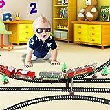 DAUERHAFT La Duradera vía de Tren eléctrico satisface Todas Sus Necesidades, para niños Muy Divertida colección de Modelos para niños