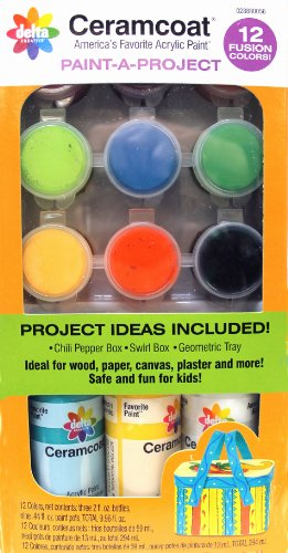 Delta Creative Paint-A-Project with Fusion Colors,