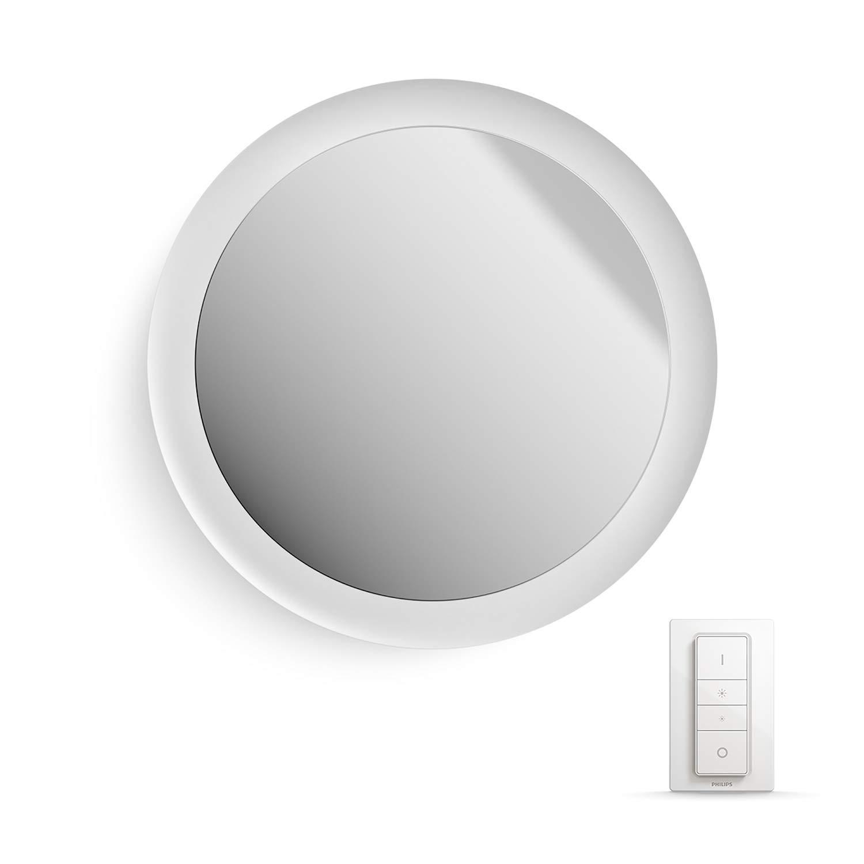 Philips Philips Hue Adore LEDミラーライト調光スイッチ付き照明器具、すべてホワイトトーン、アプリ制御、Amazon Alexa(エコー/エコードット)Smart Voice Assistantとの互換性、白