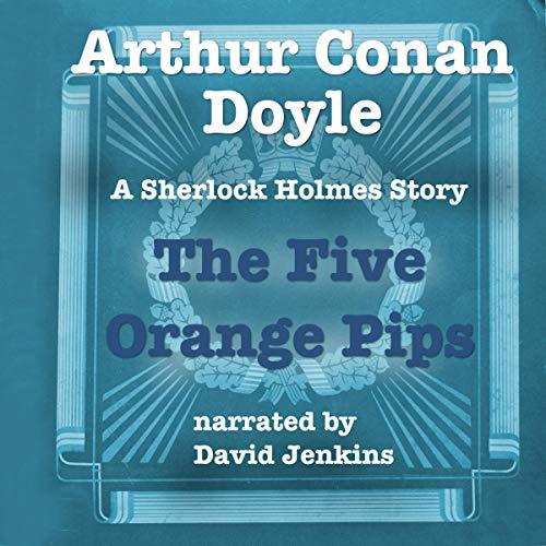 The Five Orange Pips audiobook cover art