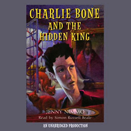 Charlie Bone and the Hidden King audiobook cover art