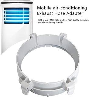 Adaptador de manguera de escape de aire acondicionado Número 2 Conector de tubería de aire acondicionado portátil Reemplazo de soporte de ventana Adaptador de panel para tubo de escape de 15 cm