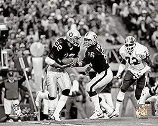 45672364420 Los Angeles Raiders Marcus Allen and Jim Plunkett During Super Bowl XVIII  8x10 Photo
