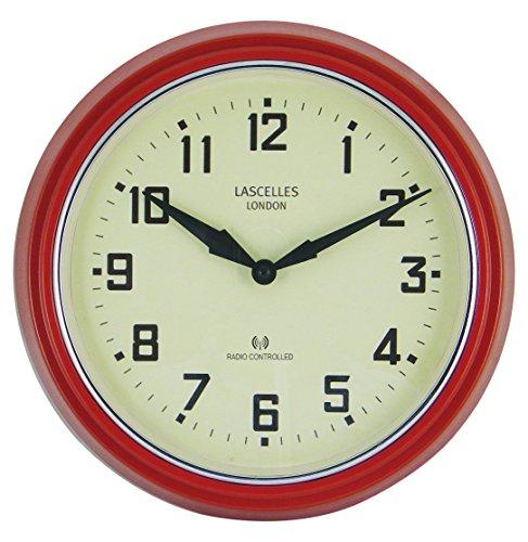 Roger Lascelles Uhr, Rot, 30cm