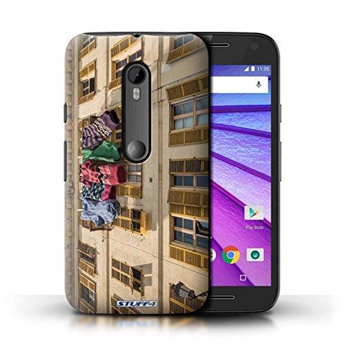 STUFF4 Telefoonhoesje/Hoes voor Motorola Moto G Turbo Edition/Mooie sokken Ontwerp/Imagine It Collection