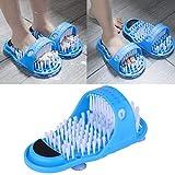 Cepillo para pies de ducha, cuidado de los pies, limpiador de pies, masajeador de pies, zapatillas de casa, ducha, sandalias, enjuague para ducha, spa, masaje, eliminación de exfoliación