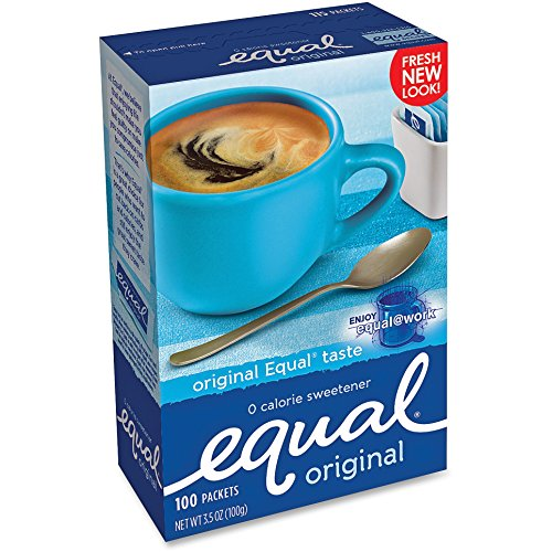Equal Equal Sugar Substitute, 1.0 g Packets, 100/BX (NUT810931)