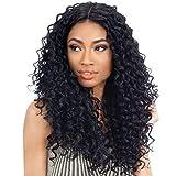 Pelucas lace front peluca pelo natural rizado realistas sinteticas peluca mujer negra larga 20 inch