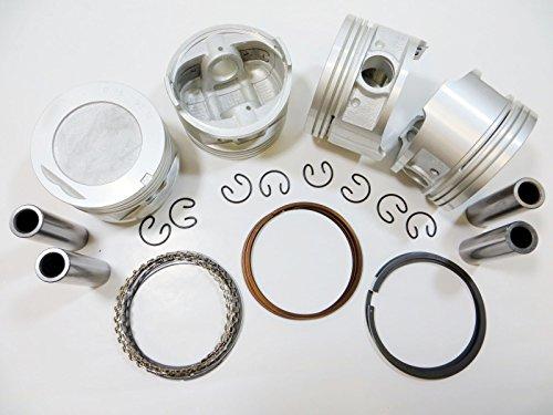 Upgraded Piston w/Premium Ring kit 85-95 Toyota 2.4L Pickup 4Runner Celica 22R/E/EC 8V SOHC (.060