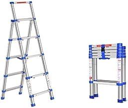 Familie opstapkrukje, Telescopische ladder Multi-Purpose Aluminium Telescoping Ladder Extension Extend Draagbare ladder op...