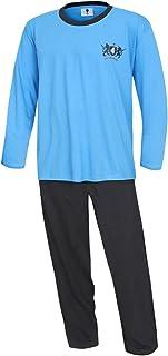 Pijama largo para hombre, talla grande, pijama largo, 100 % algodón, modelo 58, 60, 62, 64 KB Socken®
