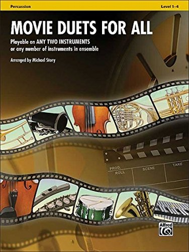 Movie Duets for All: Percussion (For All Series)