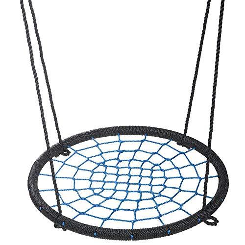 L&B-MR Kinderschaukel 60Cm Mesh Hängesessel Garten Schutz Im Freien Gartenschaukel Für Kinder, Für Bis Zu 60 Kg, Höhenverstellbar