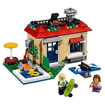 LEGO Creator Modular Poolside Holiday 31067 Building Kit  356 Piece