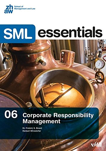 Corporate Responsibility Management (SML Essentials)