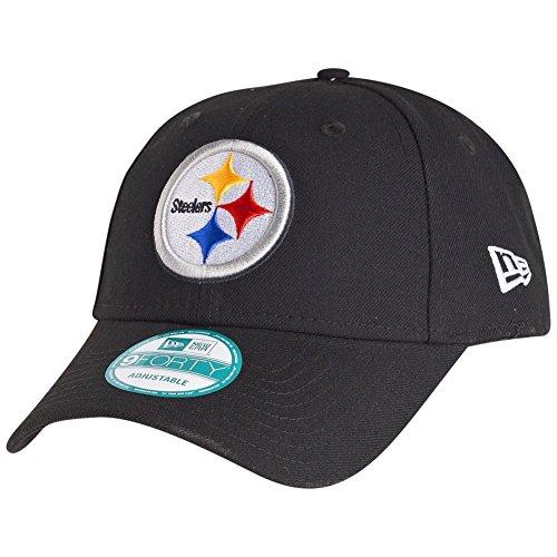 New Era 9Forty Cap - NFL League Pittsburgh Steelers schwarz