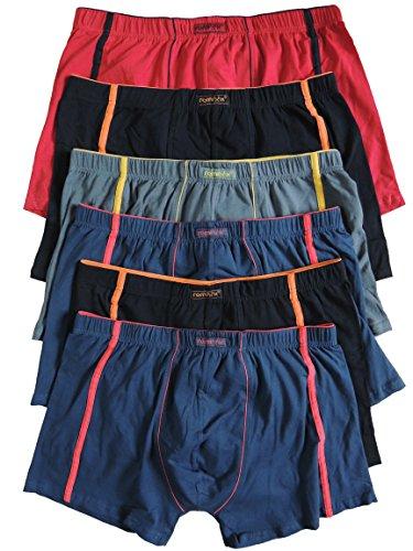 REMIXX 6er Pack Kinder Jungen Boxershorts Größe 122-174 (164-176)
