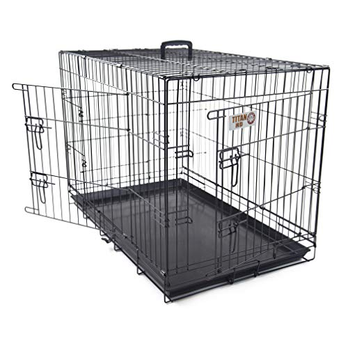 48 inch Double Door Folding Dog Crate By Majestic Pet Products Extra Large | AmazonPets Basic Crates Dog Free from Keep Pet Prime products Promotions Selection Selections Shipping Supplies Them Top Two-Day Waiting? Why