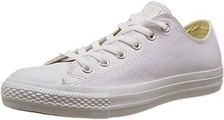 82b33c42ed56b Amazon.fr   converse basse blanche - Cuir   Chaussures femme ...