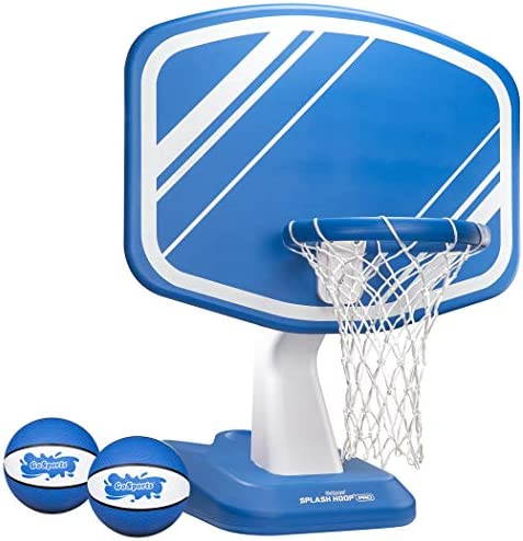 GoSports Splash Hoop Pro Pool Basketball Game Includes Poolside Water Basketball Hoop 2 Balls product image