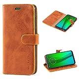 Mulbess Motorola Moto G7 Case Wallet, Moto G7 Plus Case